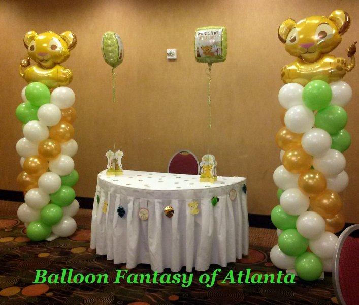 Arches Columns Amp Big Balloons Balloon Fantasy Of Atlanta