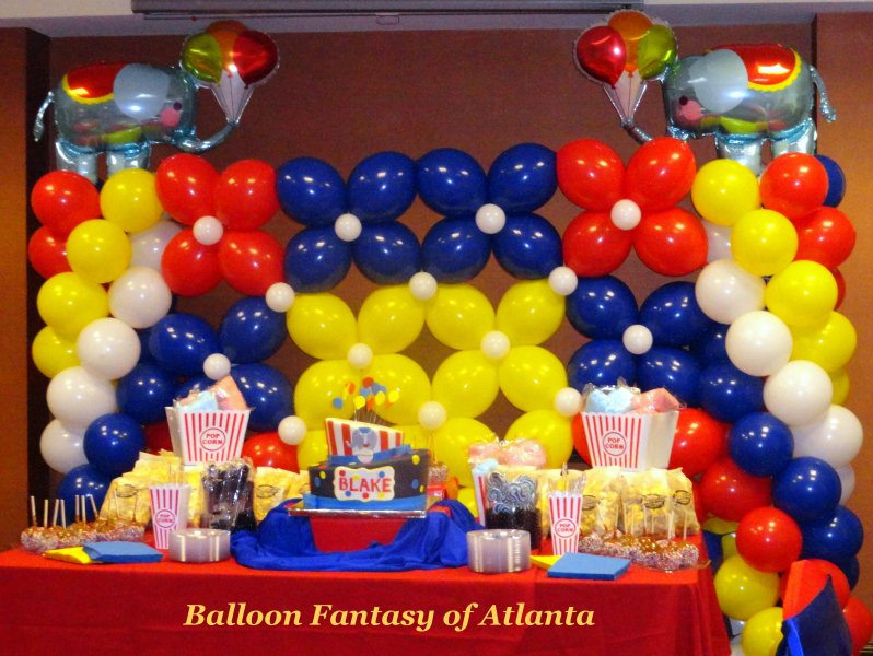 Backdrops & Balloon Walls | Balloon Fantasy of Atlanta